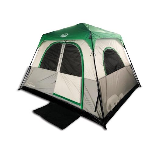אוהל CABIN משפחתי פתיחה מהירה ל-6 אנשים GoNature