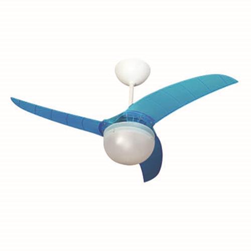 מאוורר תקרה ברזיל כחול 42″ עם שלט רחוק בית HYUNDAI