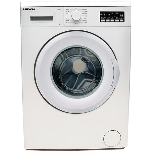 מכונת כביסה פתח קדמי לקאזה דגם LC7000 לבן