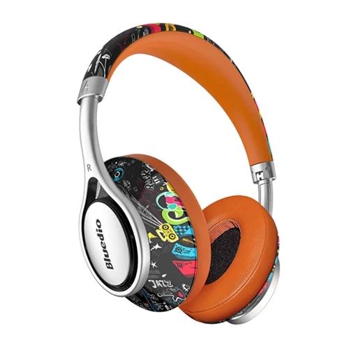 """אוזניות אלחוטיות מעוצבות רמקולים 57 מ""""מ Bluedio A2"""