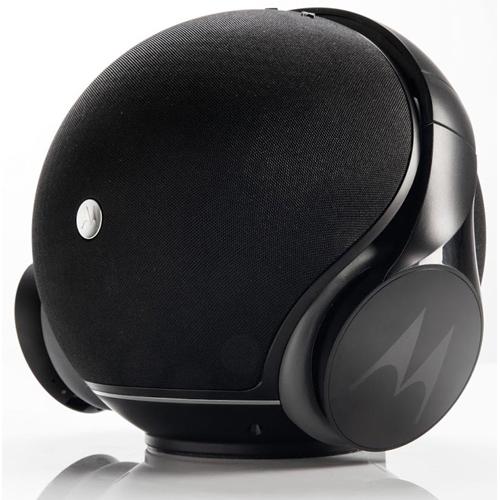 2 ב-1 רמקול אלחוטי עם אוזניות אלחוטיות Motorola