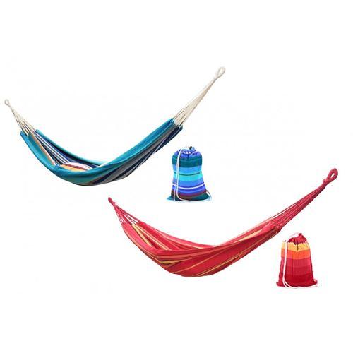ערסל יחיד קל וחזק צבעוני בדוגמת פסים, שני צבעים