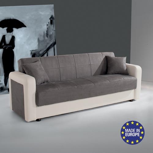 ספה אירופאית נפתחת למיטה רחבה HOME DECOR דגם קליק