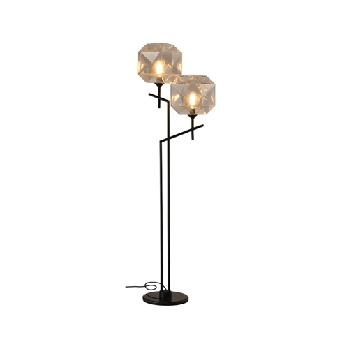 מנורת עמידה דגם קנדל שקוף 2X -ביתילי