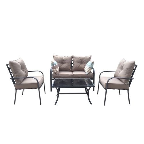 סט לגינה דגם דניאל - דו מושבי + 2 יחיד + שולחן