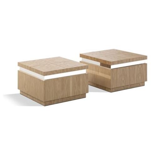 זוג קוביות שולחן לסלון דגם פורסט