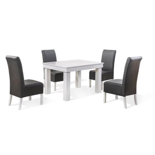 שולחן אוכל מלבני מהודר מעץ מלא דגם ברנרד