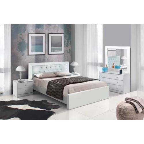 חדר שינה מושלם בשילוב של לבן דגם ספארק