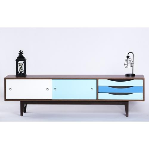 מזנון טלוויזיה בעיצוב מודרני מינימליסטי ונקי 7003