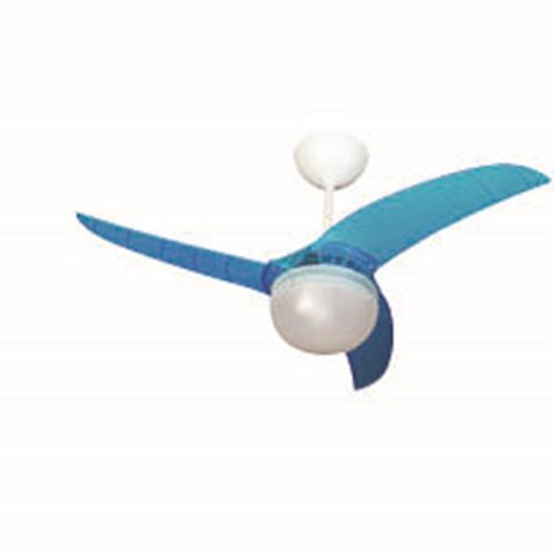 מאוורר תקרה ברזיל כחול 42″ עם שלט רחוק