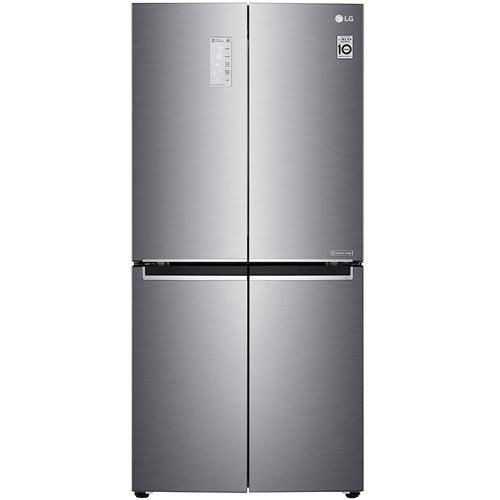 מקרר 4 דלתות 544 ליטר נירוסטה מוברשת LG GR-B608S