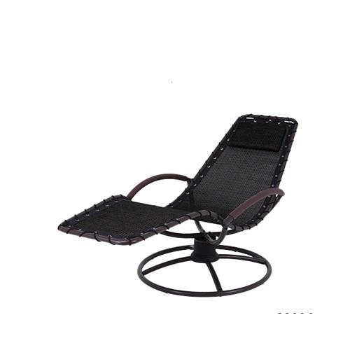 כסא נדנדה קפיץ שחור 360 מעלות PATRAS