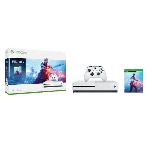 קונסולת Xbox One S 1TB+משחק Battlefield V+מתנה!
