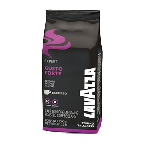 """פולי קפה LAVAZZA בטעם GUSTO FORTE במשקל 1 ק""""ג"""