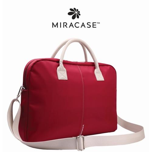 """תיק נשים אופנתי Miracase למחשב נייד 15.6"""" אדום"""