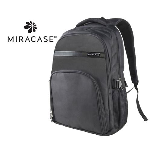"""תיק גב יוקרתי Miracase למחשב נייד """"15.6 אפור"""