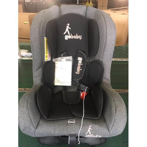 כסא בטיחות קומפורט אפור שחור