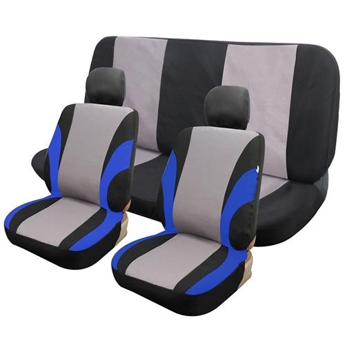כיסוי מושבים גלדיאטור 6 חלקים כחול