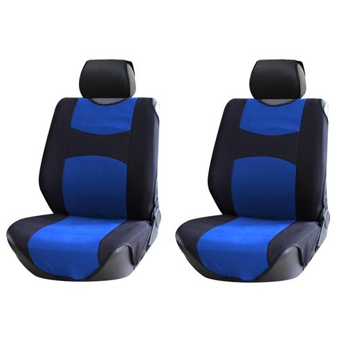 גופיית מושבים 4 חלקים לבובסקי כחול שחור