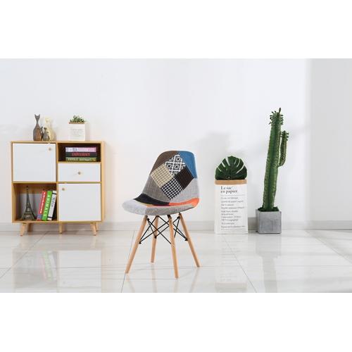 כסא מרופד- סגנון סקנדינבי - טלאים דגם 651