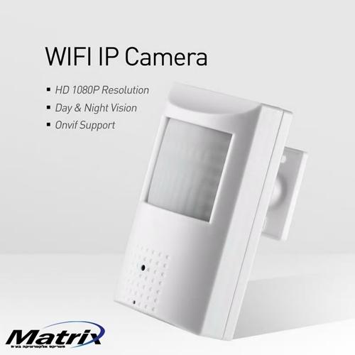 מצלמה נסתרת אלחוטית בגלאי נפח (FULL HD 1080P)