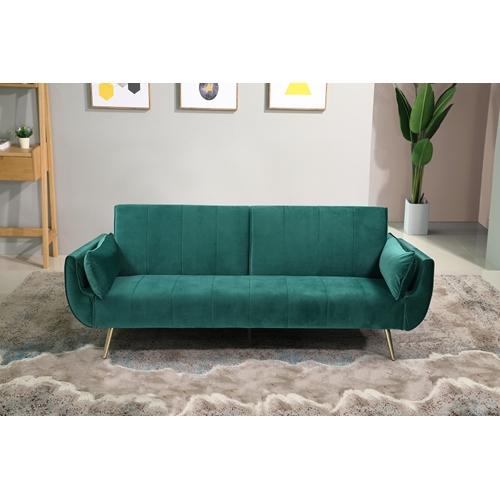 פינת ישיבה נפתחת דגם פריז – צבע ירוק