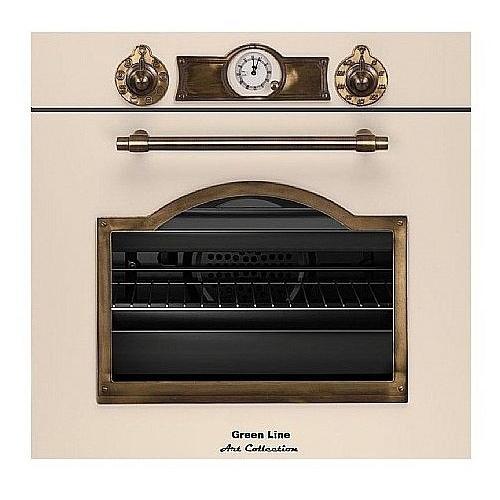 תנור בנוי מסדרת Art Collection בעיצוב כפרי יוקרתי
