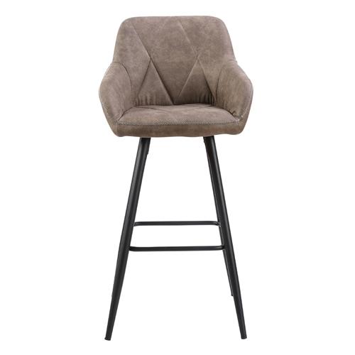 כיסא בר עם רגלי מתכת HOME DECOR דגם טקסס
