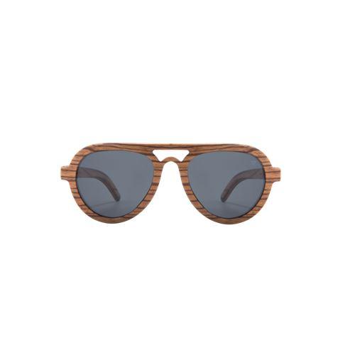 משקפי שמש מסגרת עץ לגברים דגם Forster