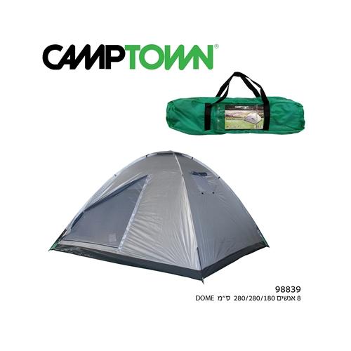 אוהל איגלו 8 אנשים 3 חלונות DOME