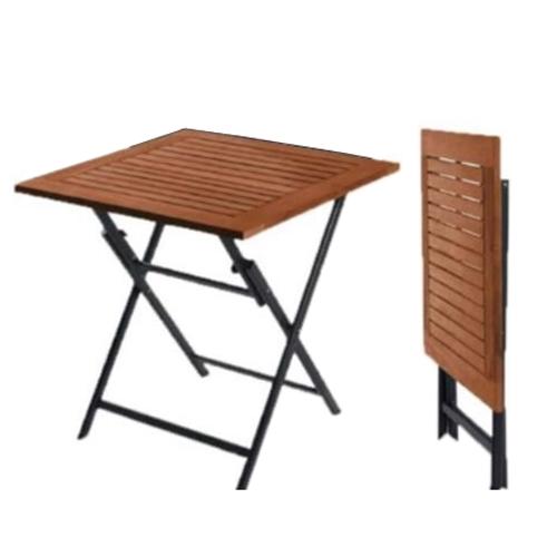 שולחן עץ מתקפל