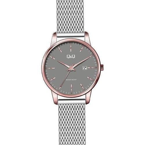 שעון נשים במראה קלאסי המתאים ליומיום ולאירועים Q&Q