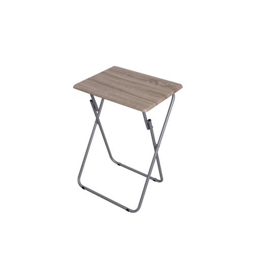 שולחן מתקפל צבע עץ