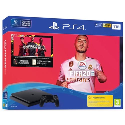 PLAYSTATION 4 SLIM 1TB + בקר ומשחק FIFA20