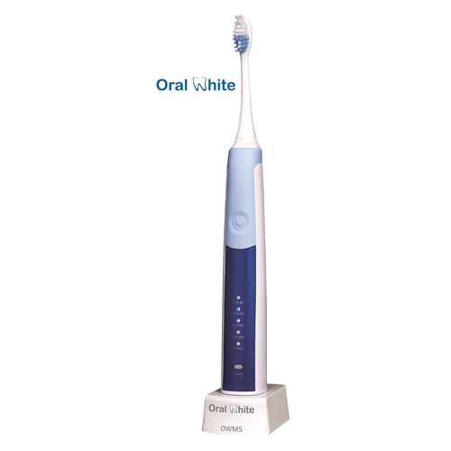 מברשת שיניים חשמלית OWM5 עם 2 ראשים להחלפה ונרתיק