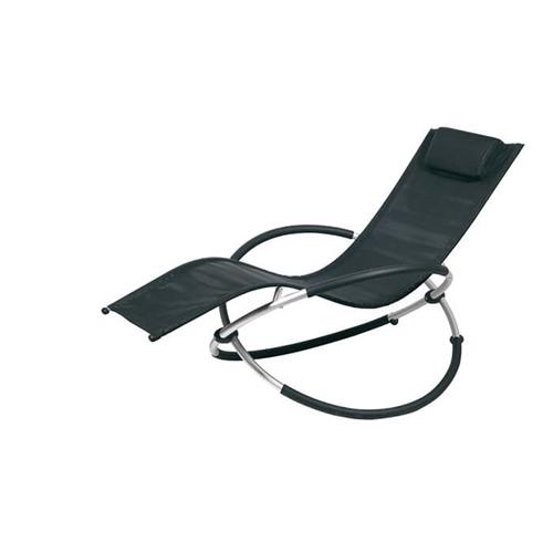מיטת שיזוף עם מנגנון נדנוד הניתנת לקיפול ואחסון קל