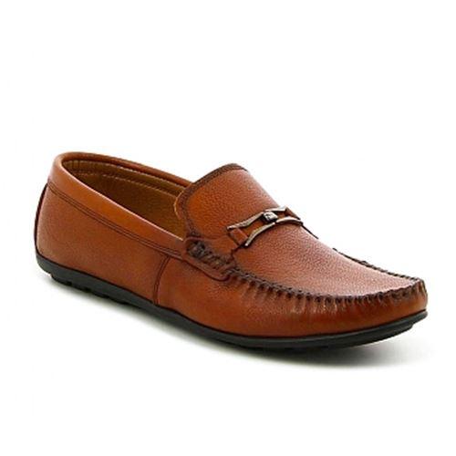 נעלי מוקסין מעור לגברים Trak טראק
