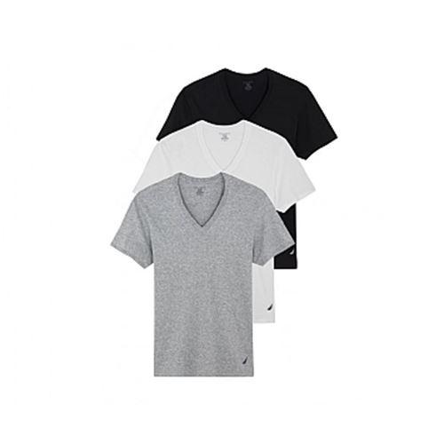 מארז 3 חולצות  בייסיק Nautica V נאוטיקה