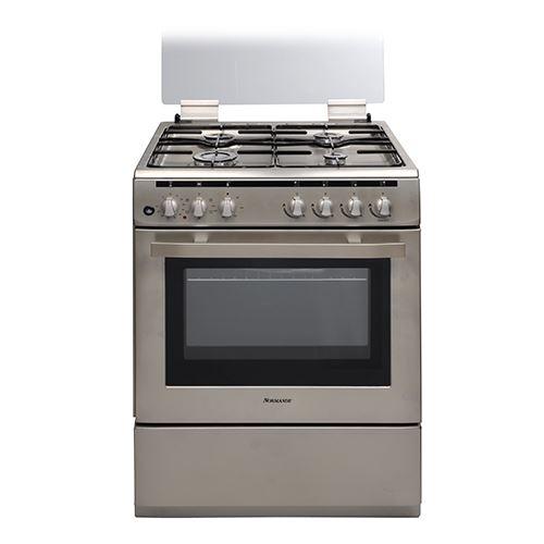 תנור אפיה משולב כיריים גז בנפח 69 ליטר ND 6262P