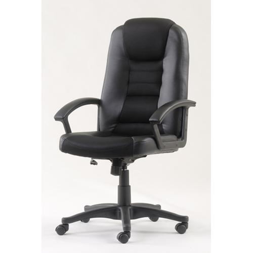 כסא מנהלים בשילוב בד רשת + ידיות מרופדות