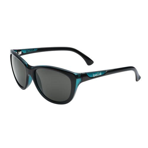 11759 greta shiny black /  translucent blue tns