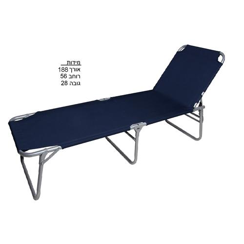 מיטת שדה מתקפלת עשויה מסגרת עמידה לשימוש ארוך טווח