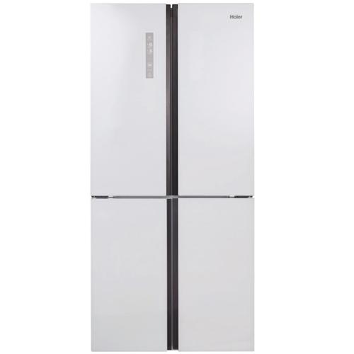 מקרר 4 דלתות בנפח 657 ליטר זכוכית לבנה HRF-725FW