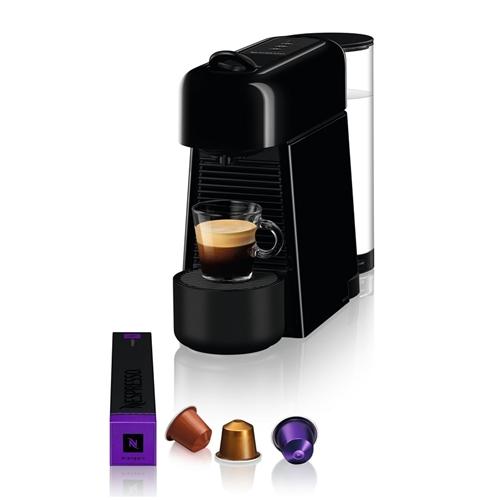 מכונת קפה NESPRESSO אסנזה פלוס בגוון שחור דגם D45