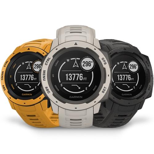 שעון יד חכם GPS בעיצוב עמיד דגם Instinct