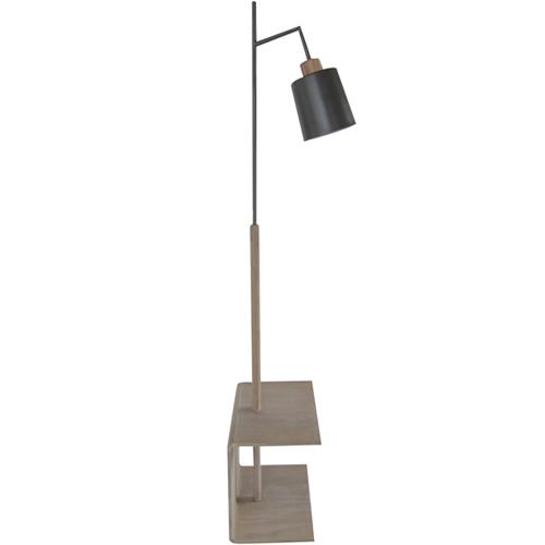 מנורת עמידה אפורה דגם בריט -ביתילי