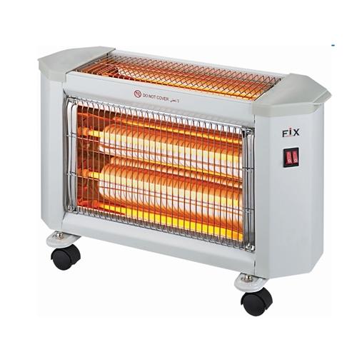תנור חימום אינפרא 2+1 FIX עוצמתי במיוחד 1800W
