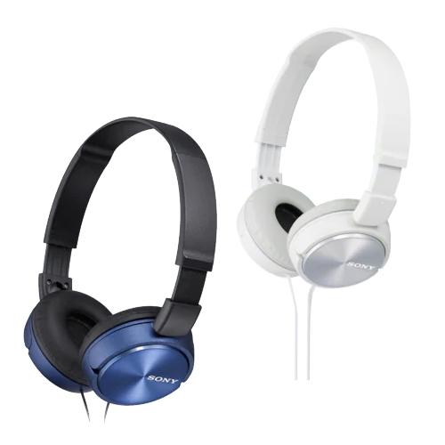 אוזניות קשת דינמיות מרופדות SONY MDR-ZX310