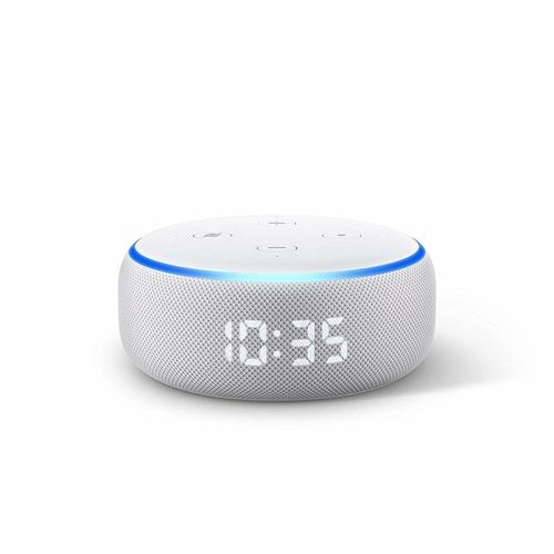 רמקול חכם Amazon Echo Dot3  כולל שעון מואר