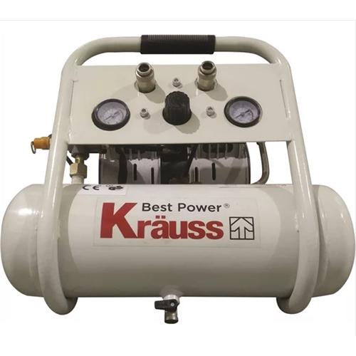 """מדחס שקט ללא שמן Ultra Silent הספק 1 כ""""ס KRAUSS"""